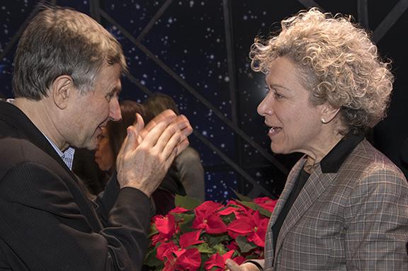 Advisory Board members Ron Simon and Susan Margolin