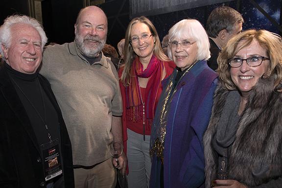 Left, Gordon Herr, Ken Dorph, Legislator Bridget Fleming, Clare Coss, Robin Long