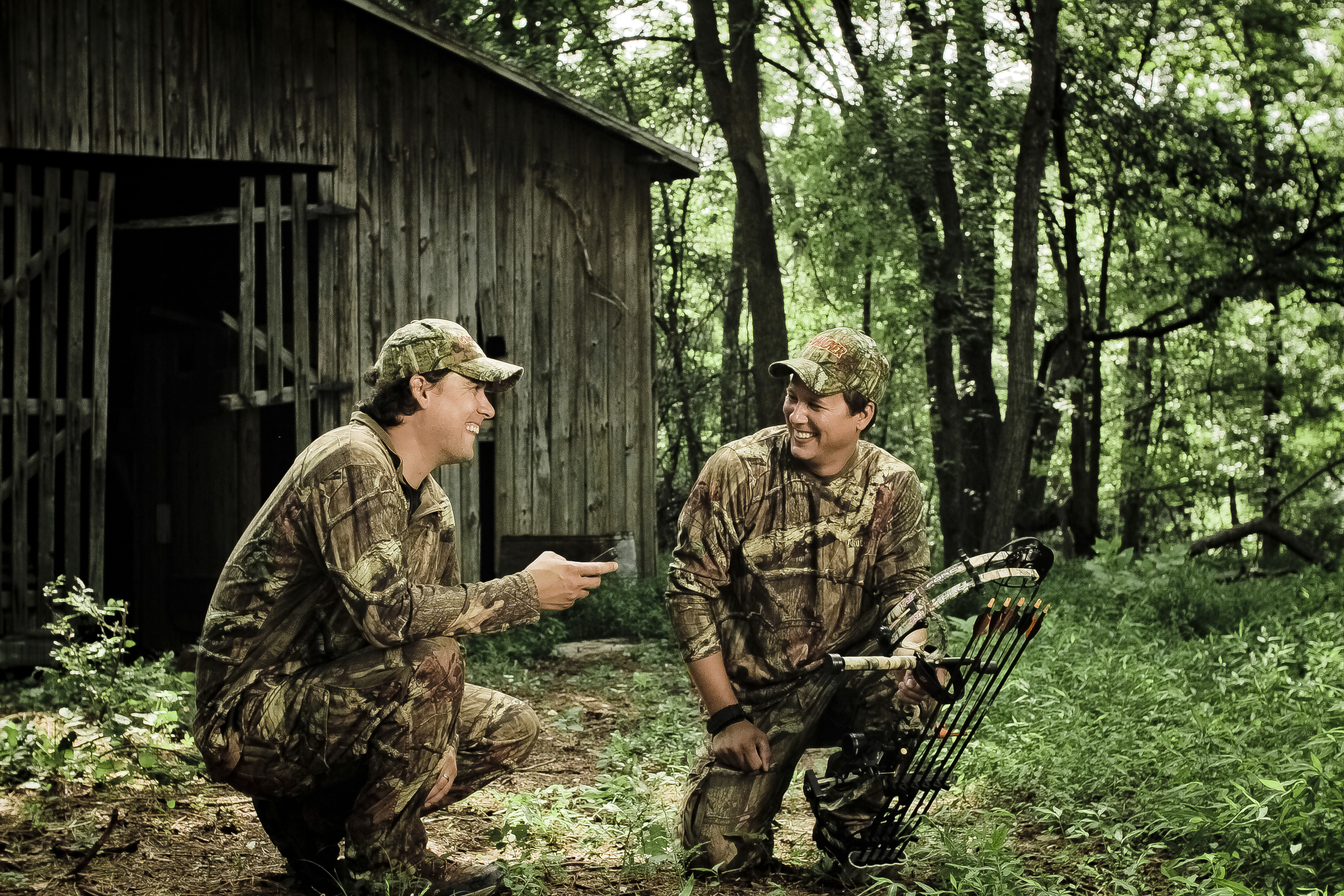 Hank Jr. and Billy Take a Break from the Hunt!