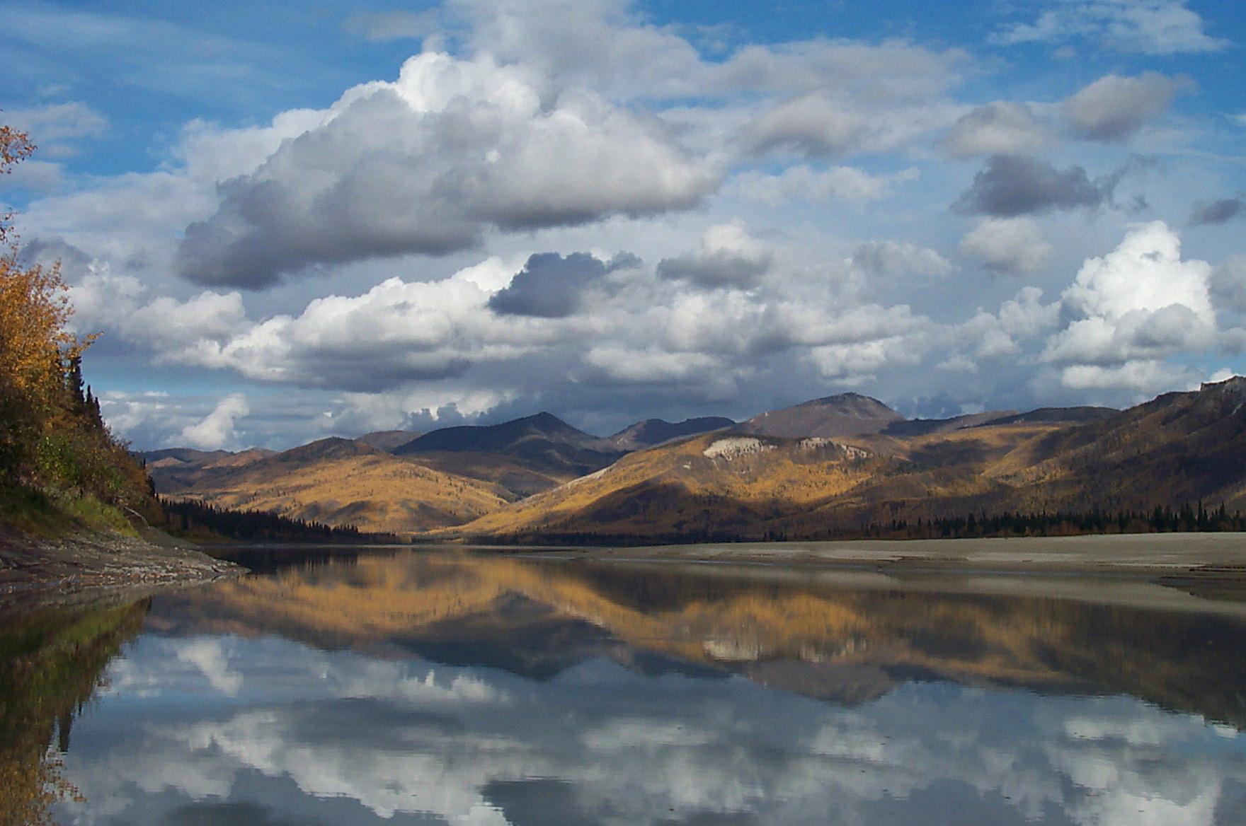 HEAPHY_Fall Reflections on the Yukon.jpg