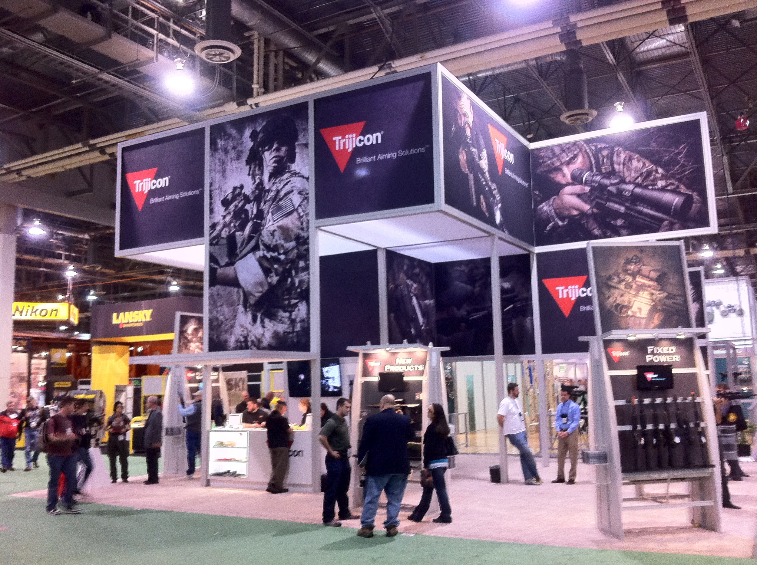 "National Shooting Sports Foundation ""Shot Show"" in Las Vegas"
