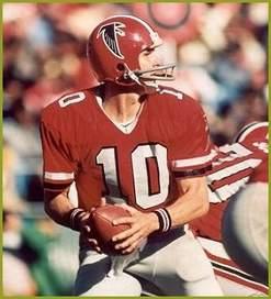 NFL All-Star Atlanta Falcon Quarterback