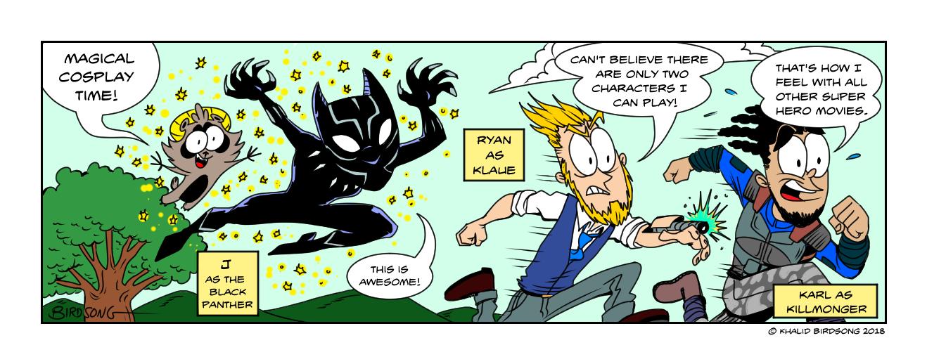 LittleFCS Black Panther Magic Cosplay.jpg