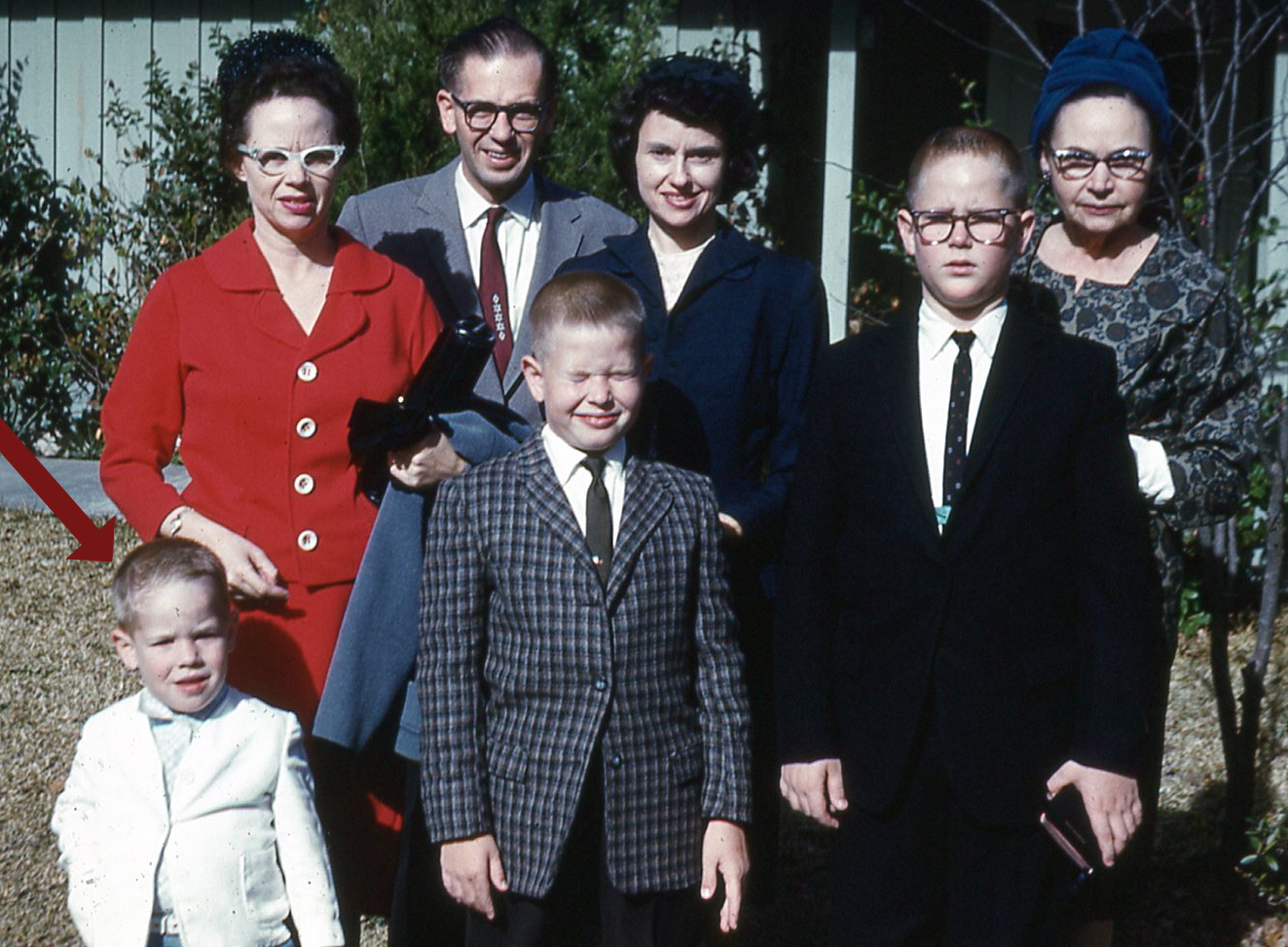 Family picture 1960 style