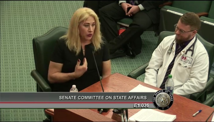 Dr. Colt Keo-Meier and I testify before the Senate Committee on State Affairs