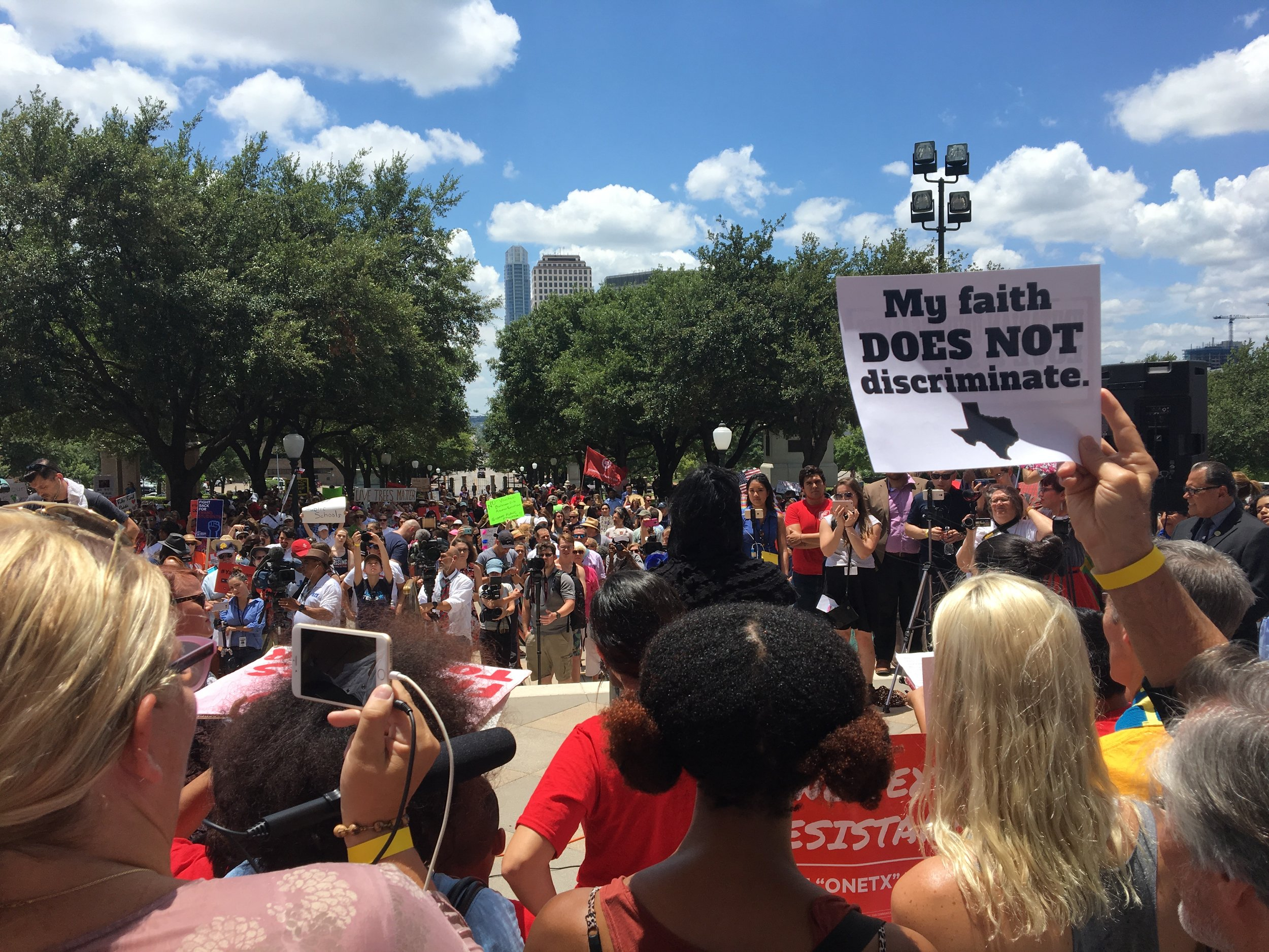 One Texas Resistance Rally on the 1st day of the TexasSpecial Session
