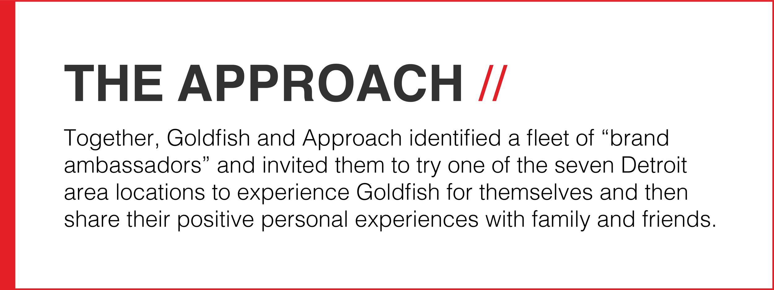 TheApproach_GoldfishSwimSchool