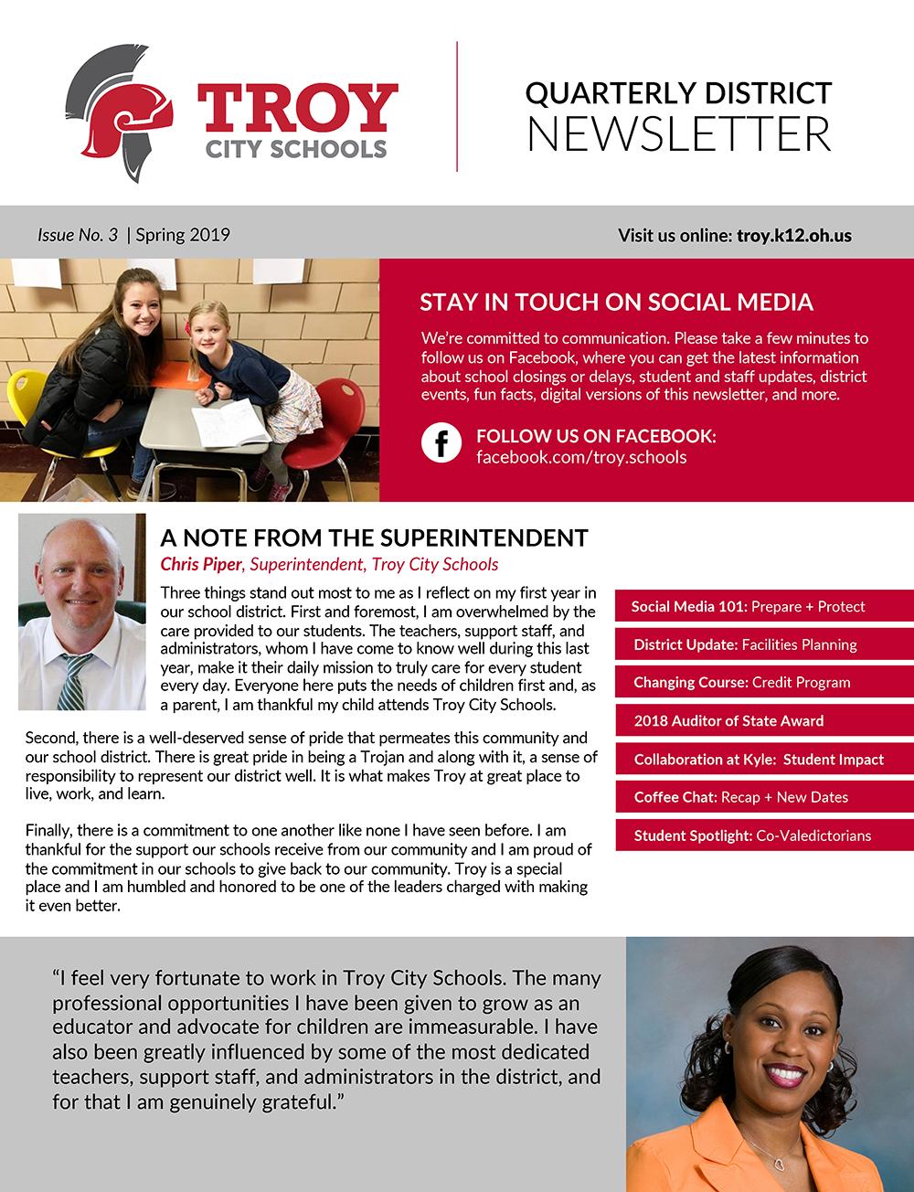 Troy Newsletter