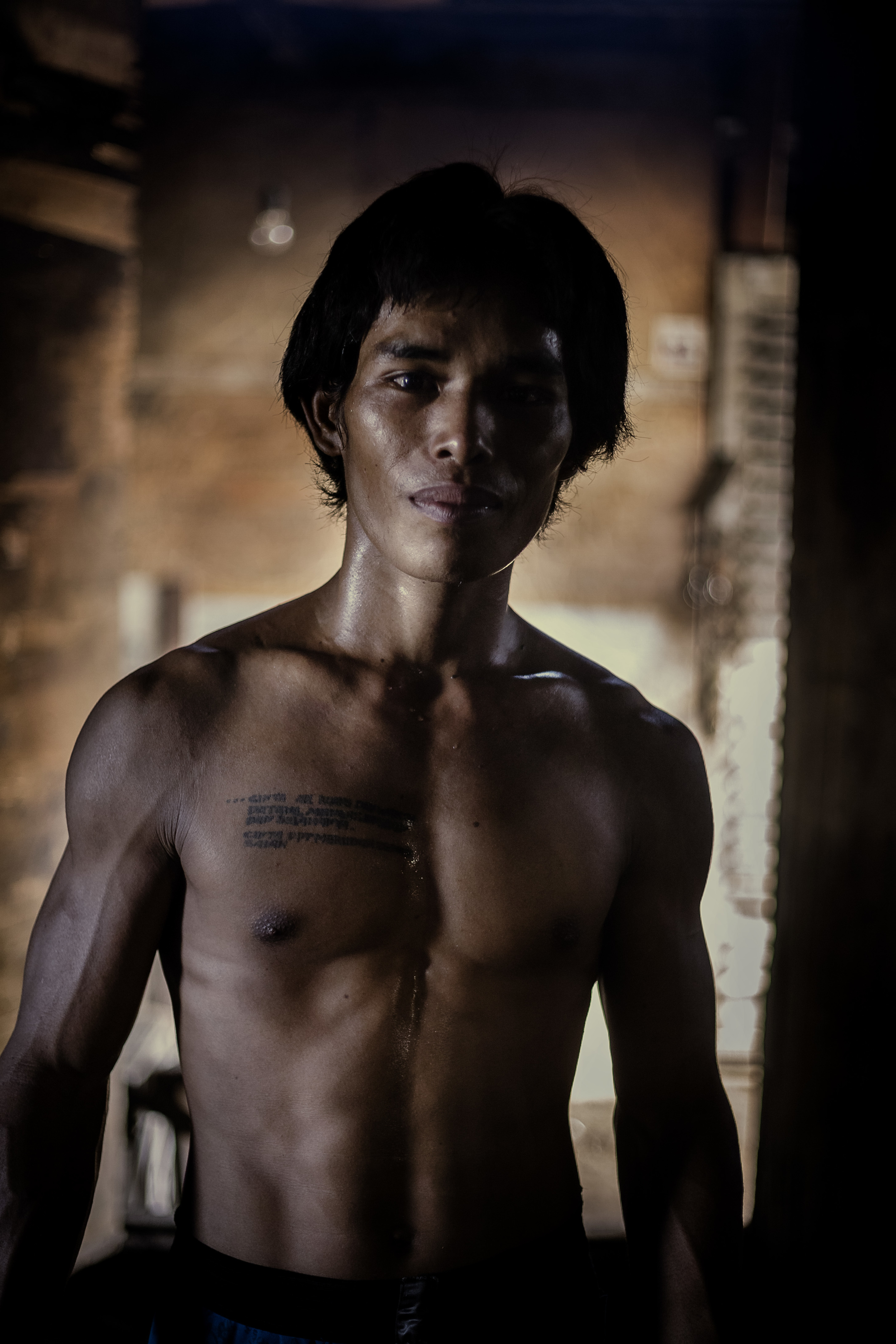 Portrait of Jacky Chan  Salt, Denpasar Indonesia Bali