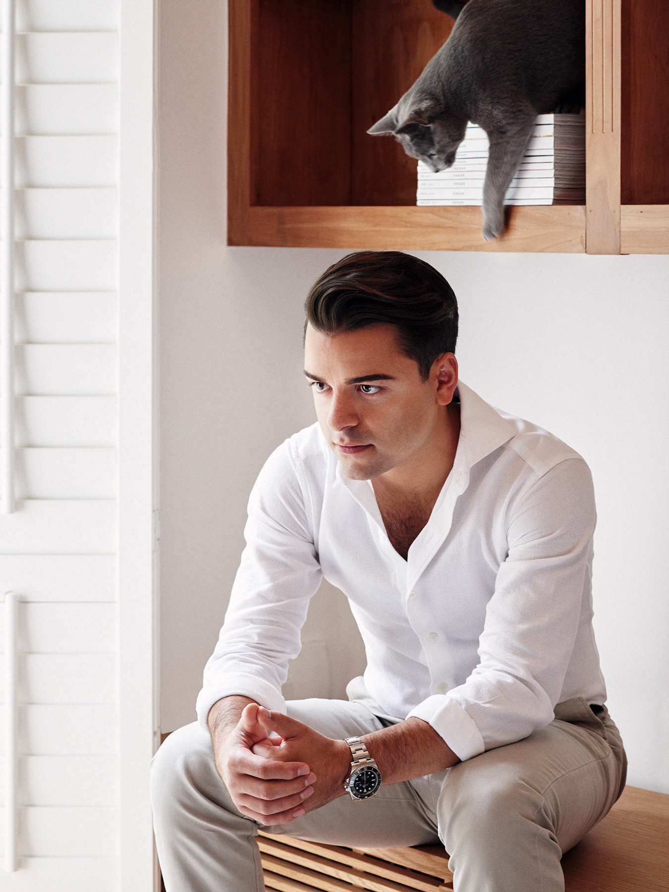 Mehmet Ali - Designer, Hardy Amies
