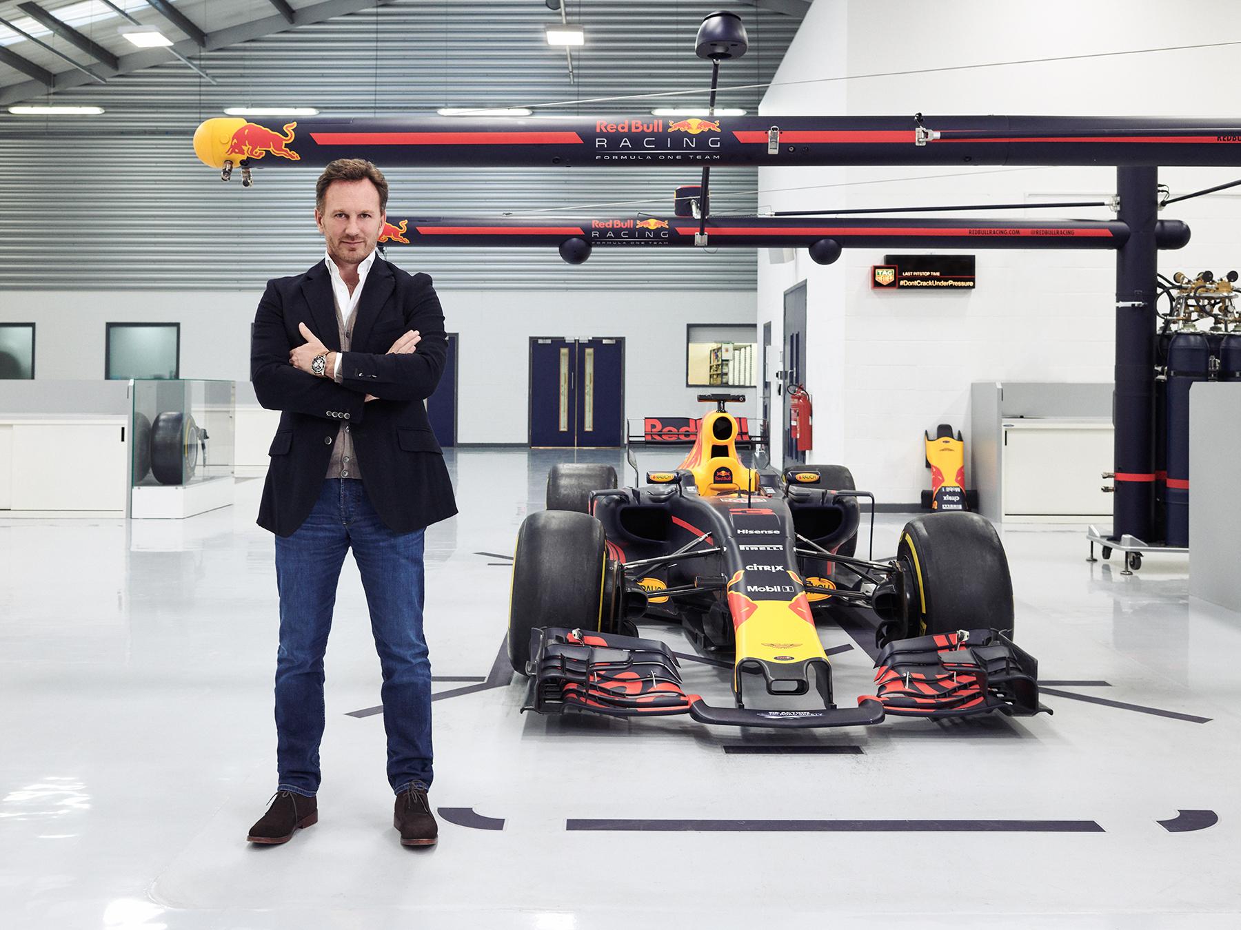 Christian Horner - Redbull F1 Director
