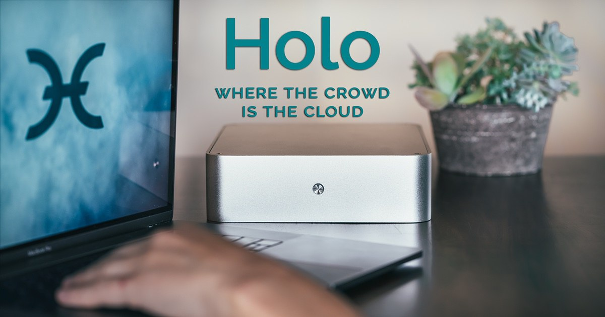 Holo.host rewards users in HoloFuel for sharing some of their computer's processing power and storage. This allows other users to use apps on the HoloChain privately and efficiently. Launches Spring of 2017, preorders are almost sold out, so get your's while you still can.