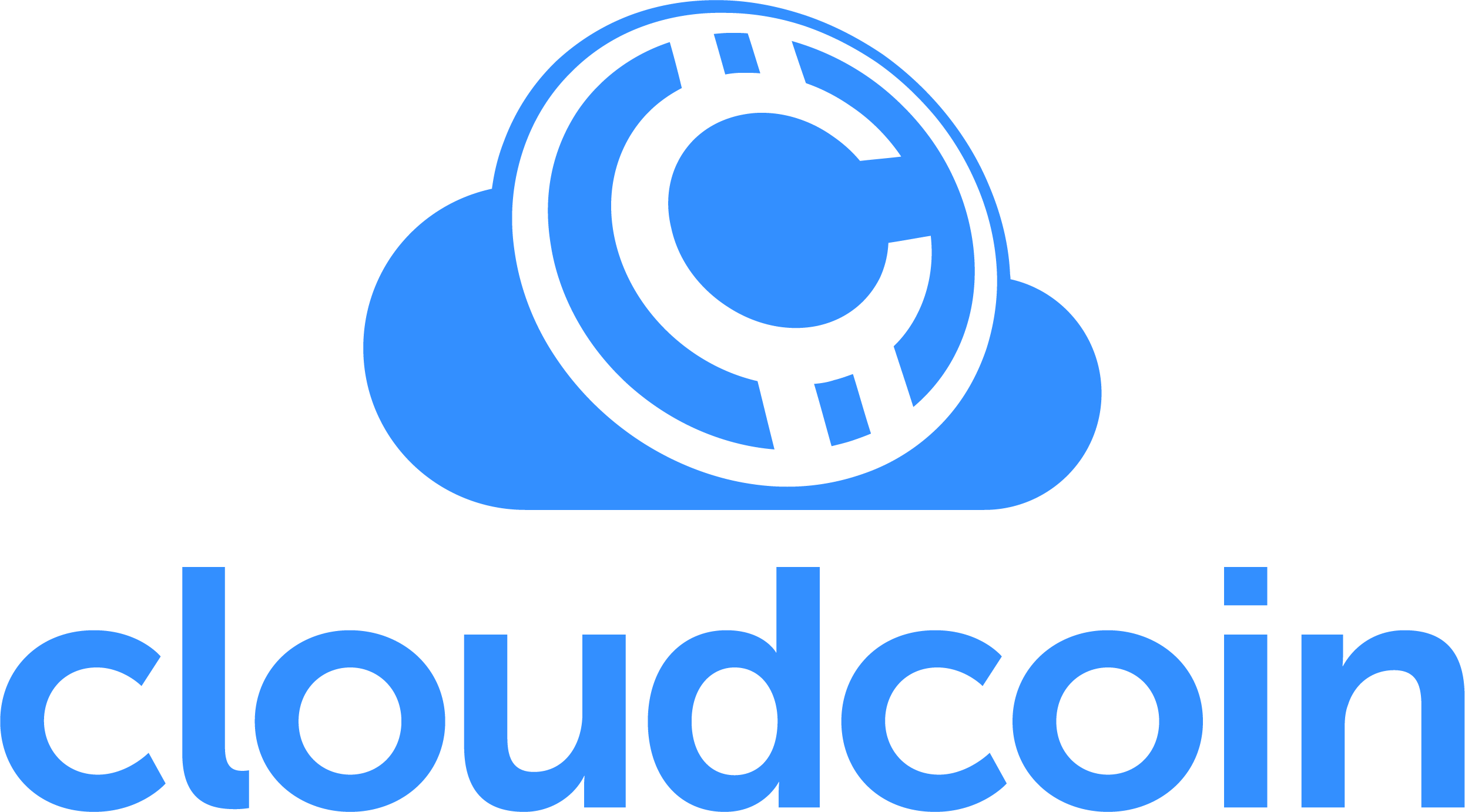 """The goal of CloudCoin is to provide a """"perfect"""" global currency that cannot be counterfeited, double-spent, mined or lost; An eCurrency that is 100% private, requires no public ledgers, accounts, or even encryption; a monetary system that is absolutely fair and ethical and requires no special software or downloads.  Receive 5 Free Cloudcoin by clicking the above logo."""