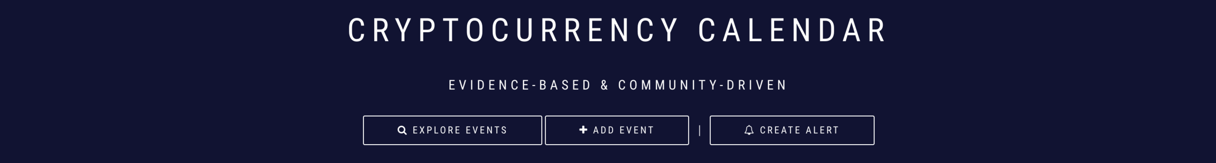 Keep up with the latest events, releases, and more across the cryptosphere.
