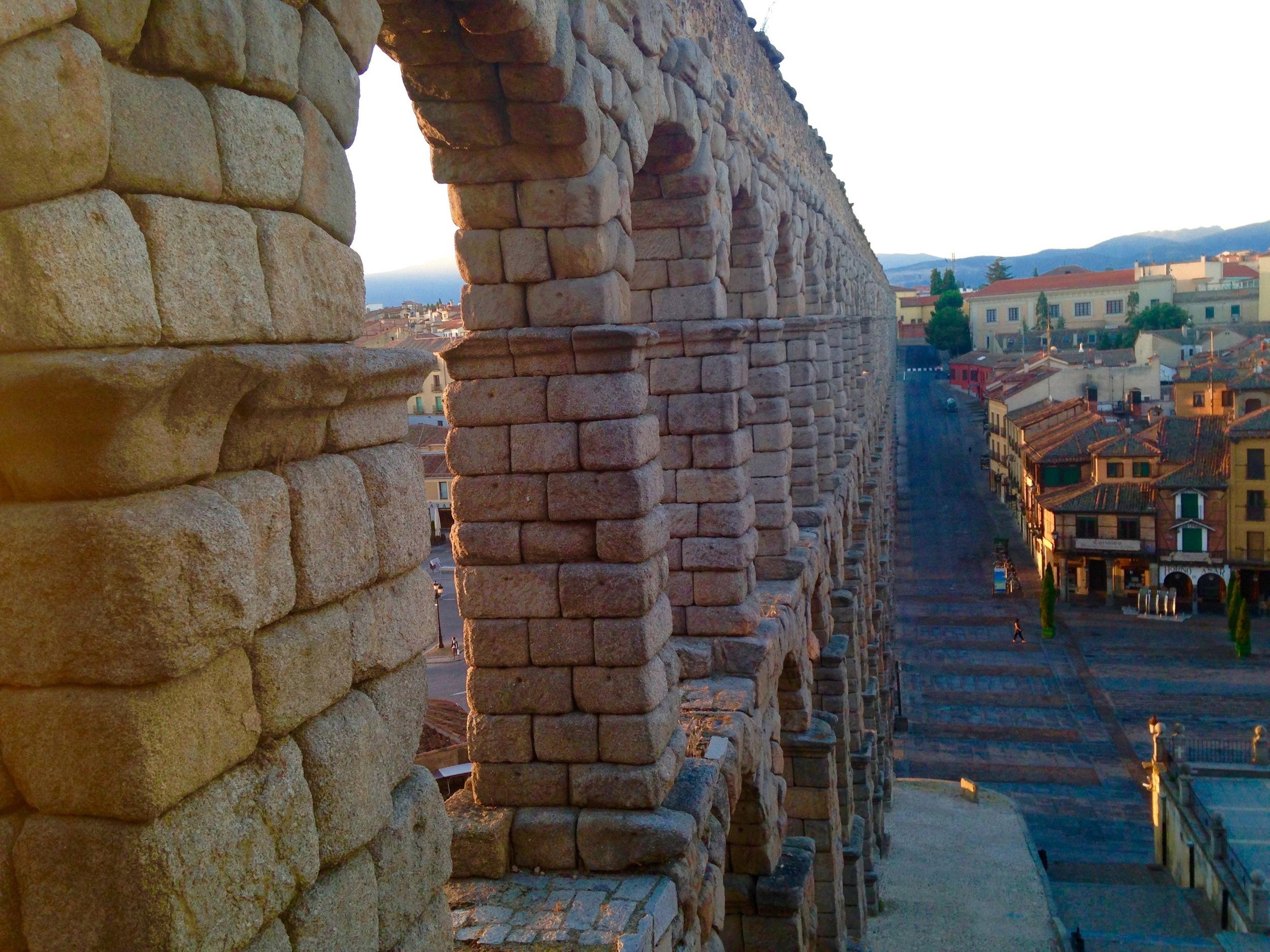 Dawn at the Aqueduct