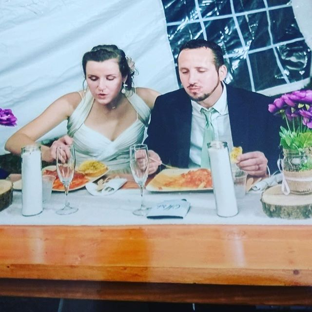 Planning a wedding or party?  We'd love to be a part of your next event! Want your guests to enjoy our food as much as this recently married couple did? Contact Mara-Leo's and you won't be disappointed!! #wedding #catering #lancaster #italianfood #yum