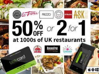 To support the show, Daniel Ruiz Tizon is Available has teamed up with tastecard+ giving you the chance to get your very own tastecard free for one month or just £1 for three months. tastecard+ has everything from discounted hotels; theatre offers; special dining discounts at trusted high street outlets, Michelin Star and AA Rosette restaurants.    All you have to do to get your free trial is go to  tastecard.co.uk/trial   and sign up.