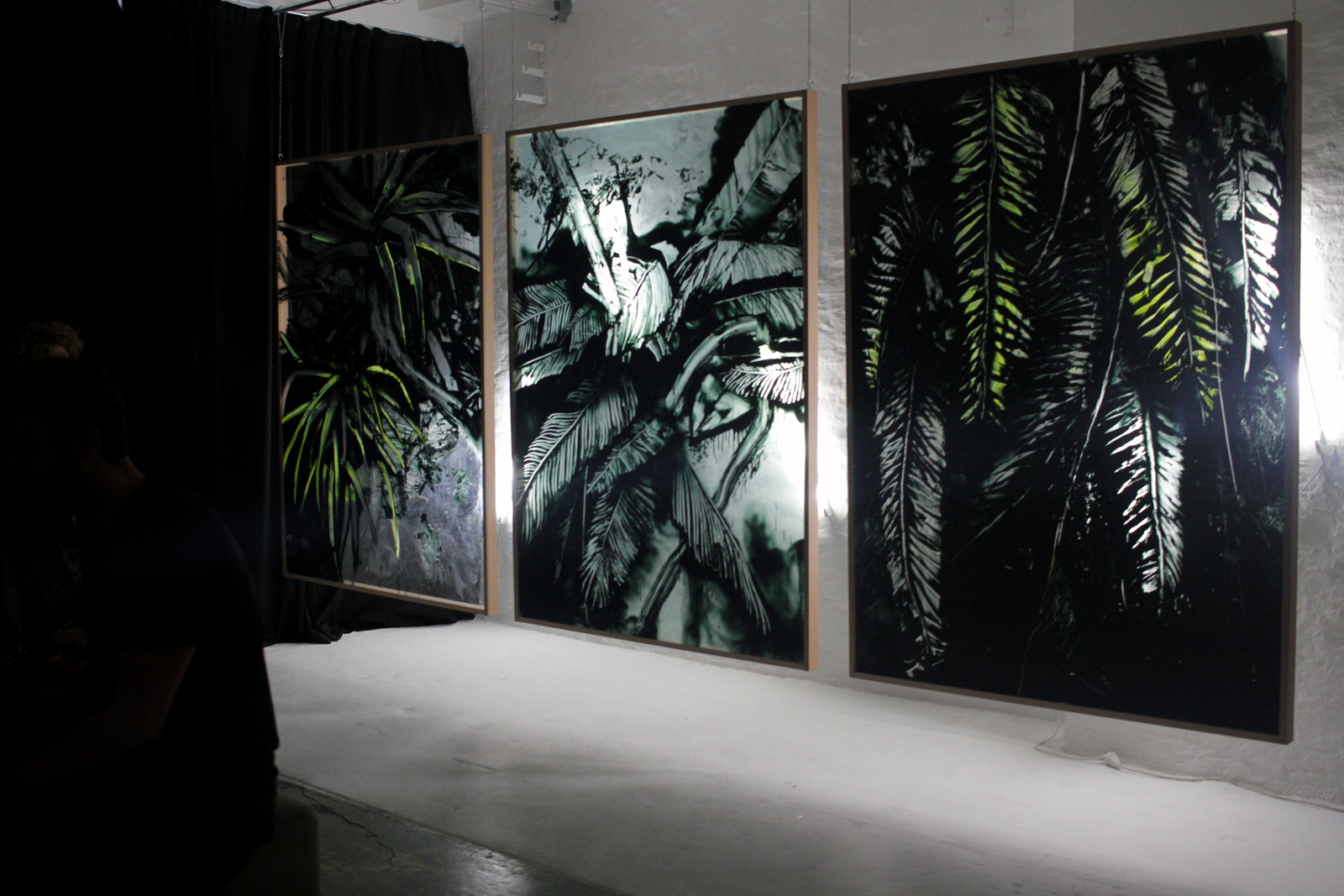 Berlin Plant I, II and III 2016 by  Hiroyasu Tsuri /TWOONE Shadow of a Truth - co-curated with Adi Yaakov -  48 Stunden Neukölln  festival 2017 at  Studio Cherie