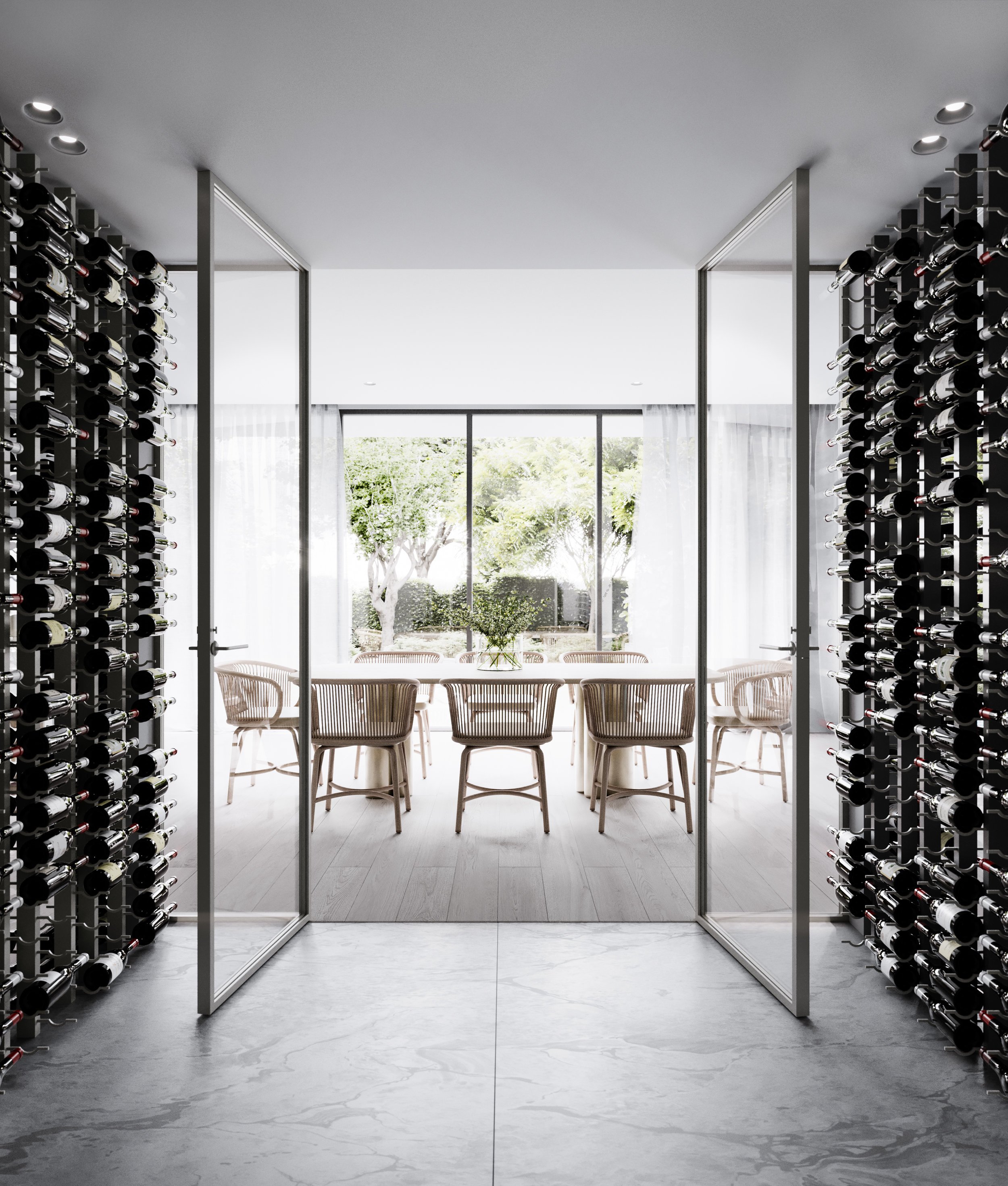 Wine Room by Mim Design x Mr P Studios