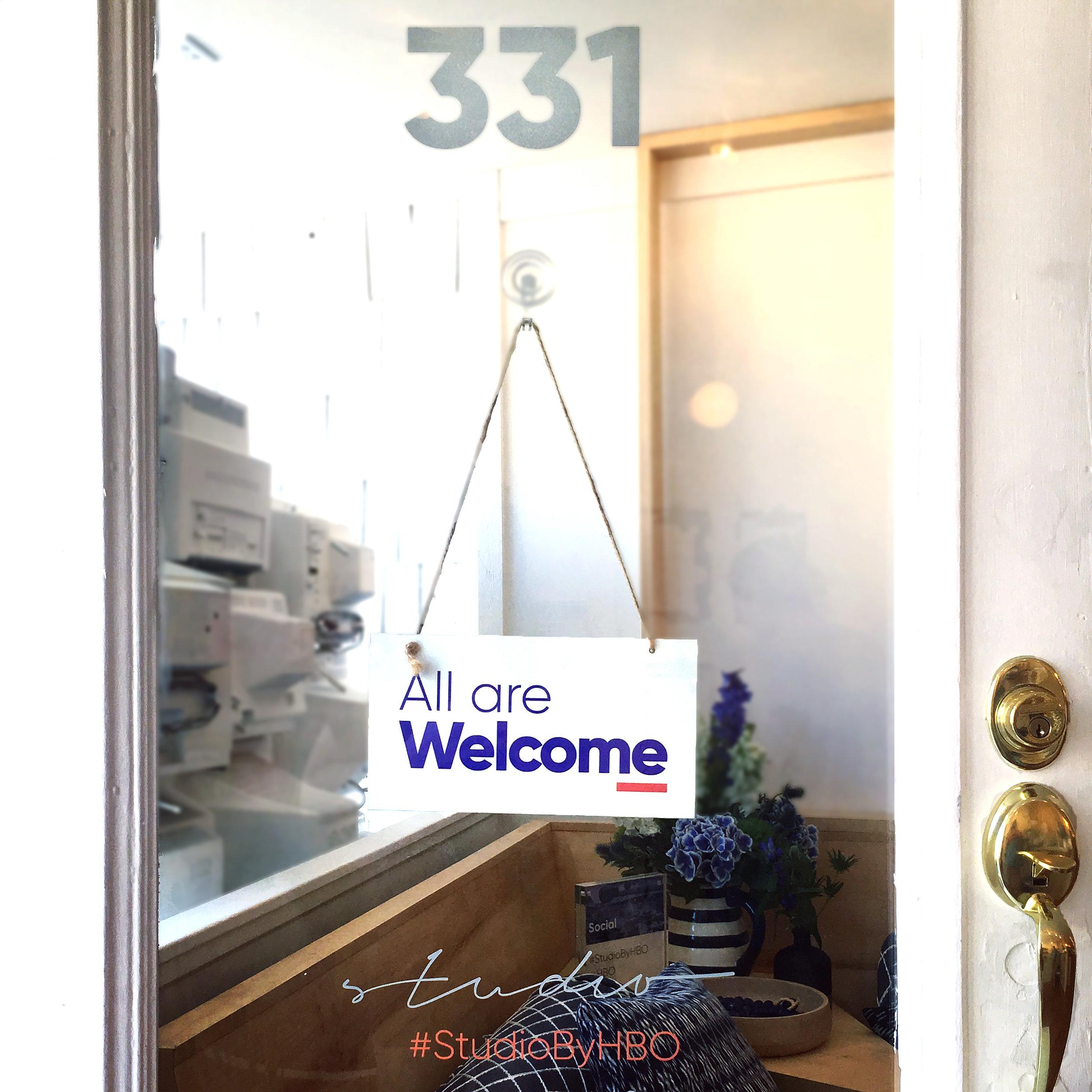 Welcome Door Sign