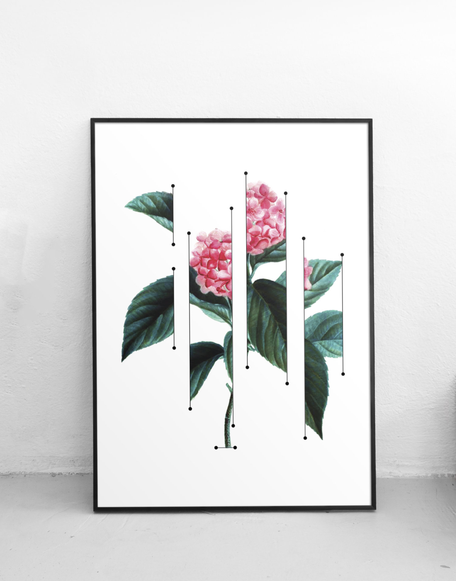 Floral screenprint