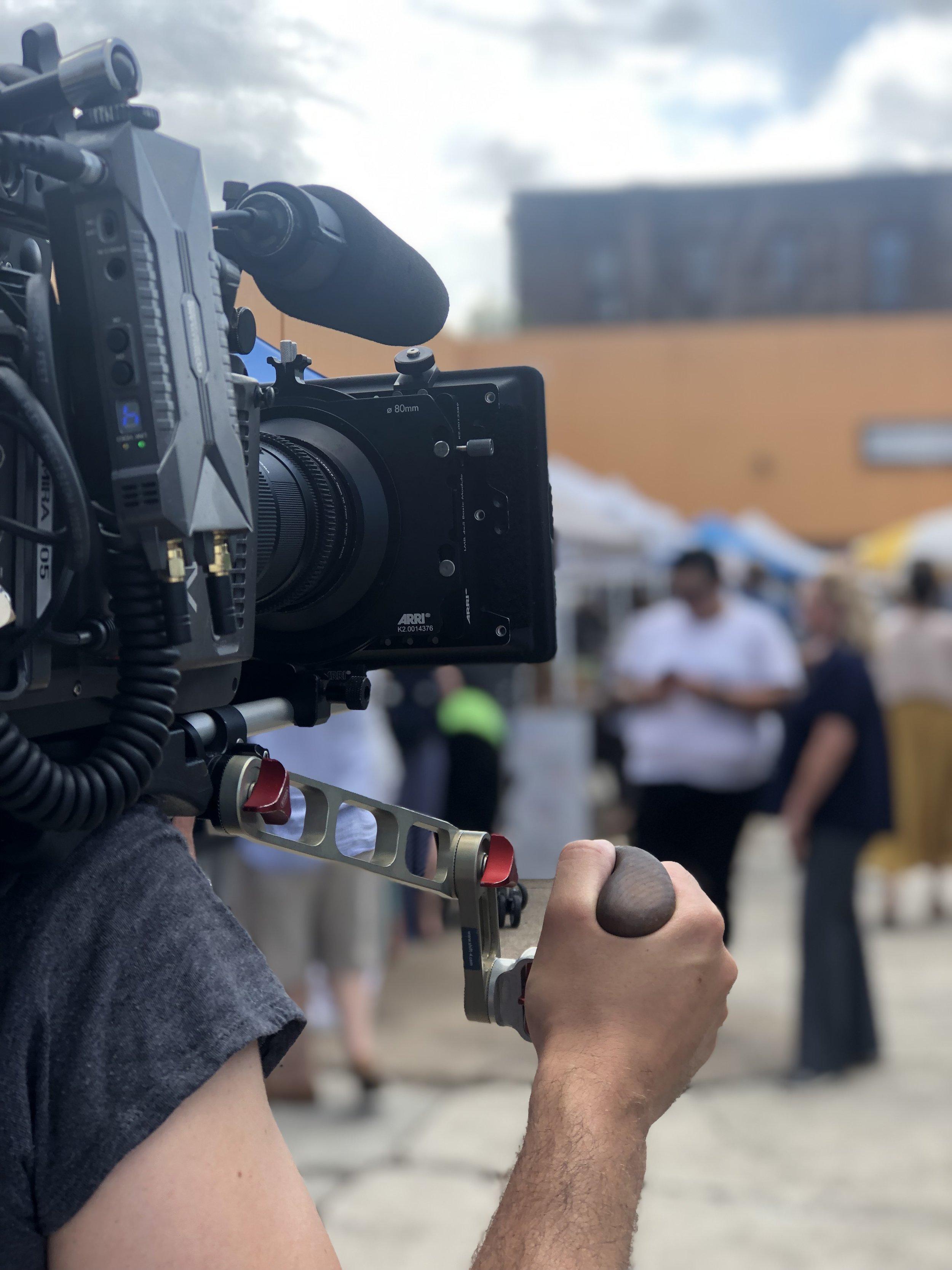 Film Tv Photo Shoot -