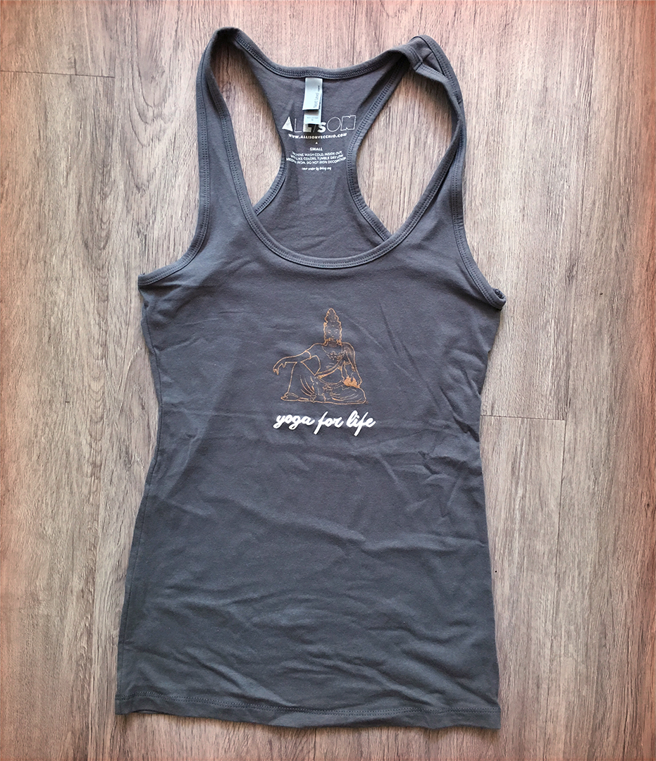 Yoga For Life Women's Racerback Tank $20 + free shipping