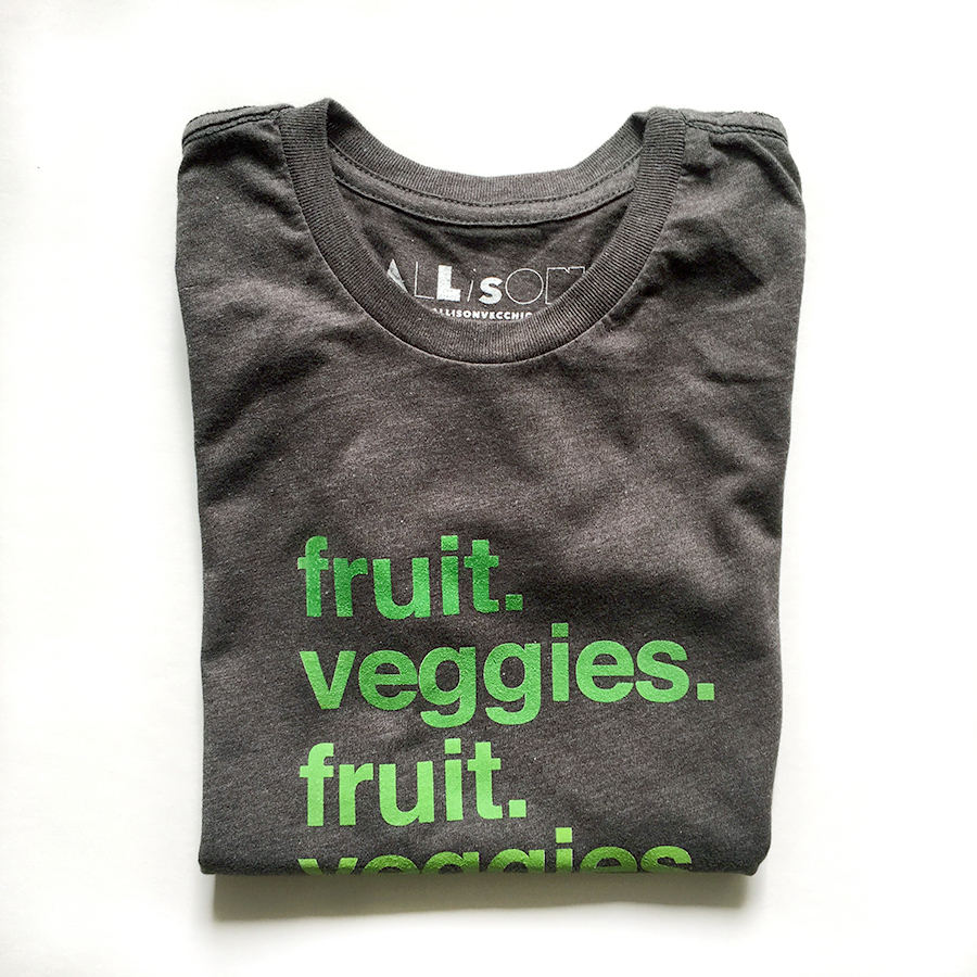 fruit. veggies. Women's Fitted Tee $37 + free shipping