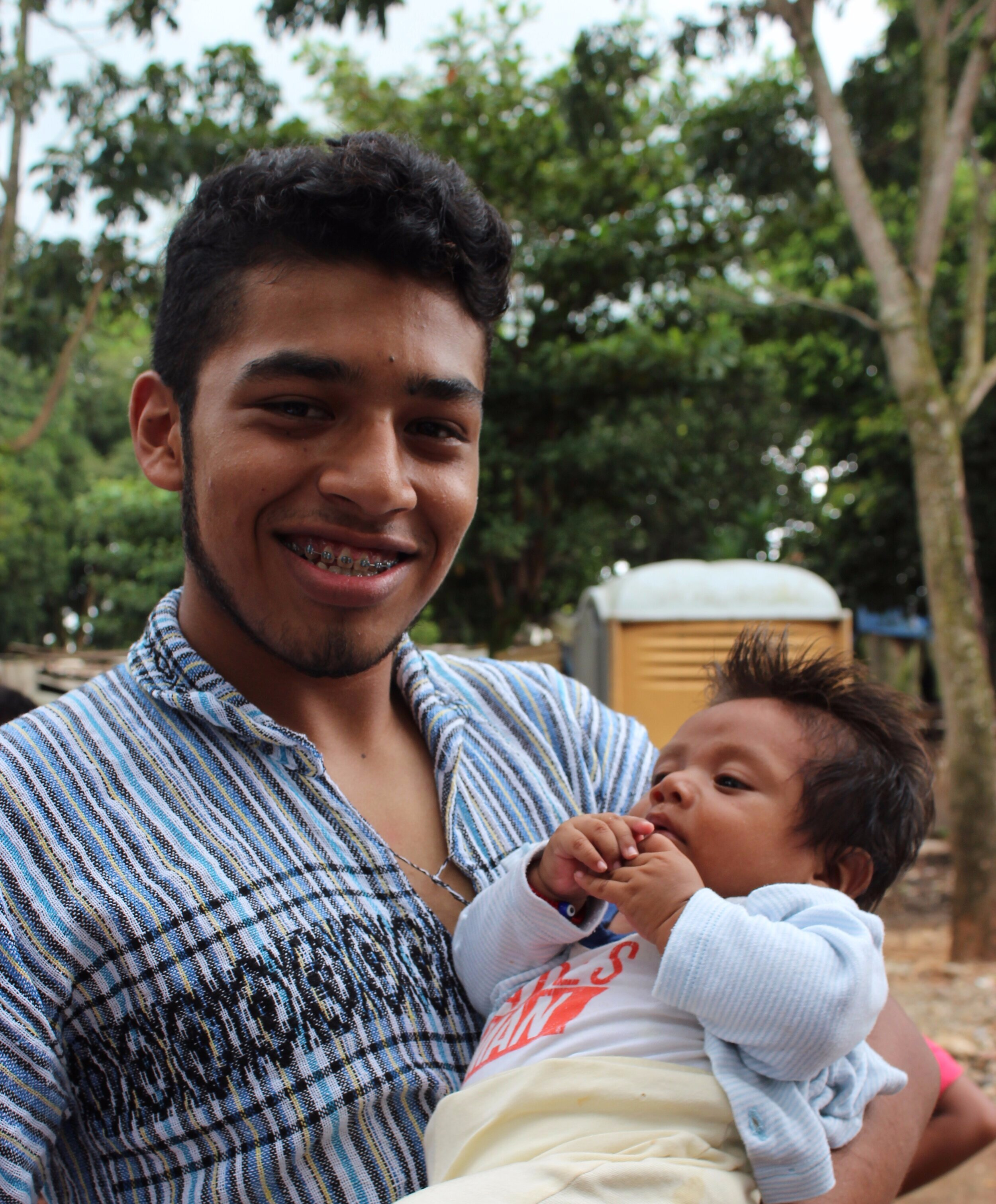 Opportunity for Obed - Obed is loved by all our teams from the USA. He is the son of Pastor Cesar Salcedo and Mauri of Tuxtepec, Oaxaca and graduated from high school this past year. He is not married nor does he have children, but you will often find a baby in Obed's arms. Recently, he was accepted into the Dallas Baptist University to study English for an 8 week international program. The tuition totals $3,500 which is half the normal cost. It seems that the Lord has opened an amazing opportunity for Obed. If you would like to help us raise the tuition funds, please send donations to MXO.