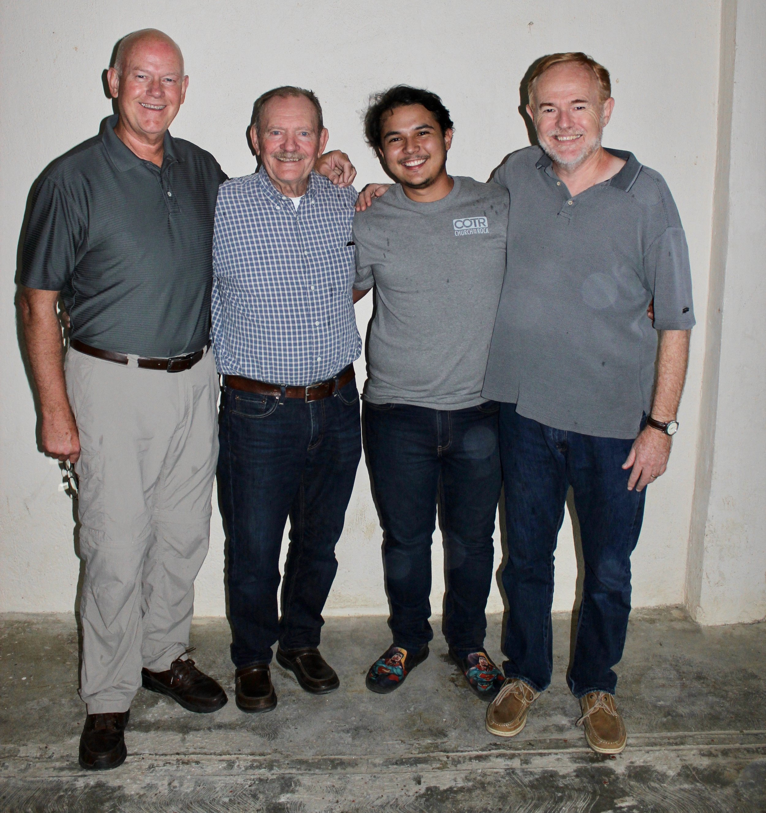 IBI Session II - Professors Leroy Curtis and Chuck Bass led the August session of IBI with Luis Pinto as translator. Many thanks to these men who use the gifts God has given them for His glory!
