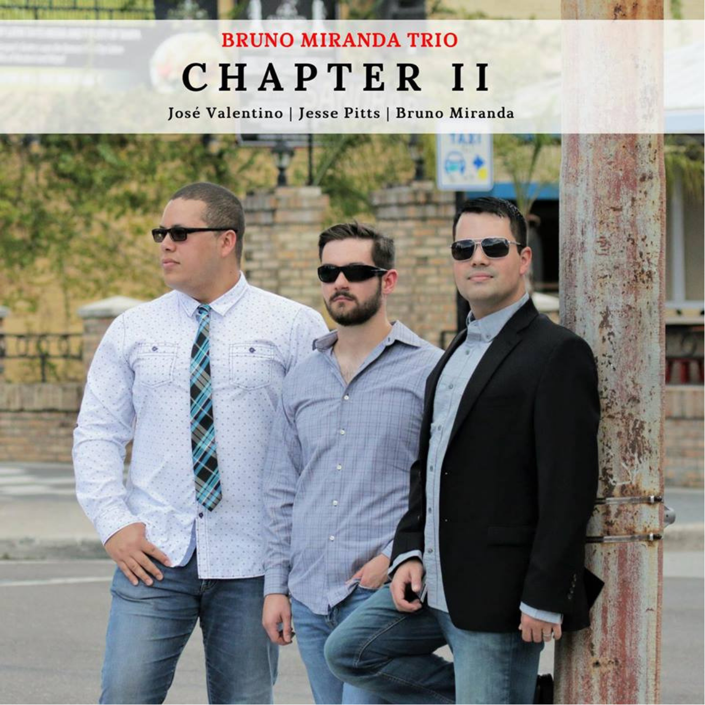 A modern approach to Jazz-fusion trio music featuring José Valentino on bass and flute, Bruno Miranda on piano, and Jesse Pitts on drums. This album exudes sophistication, elegance, patience, and joy, as the trio are comprised of a life-long friendship.