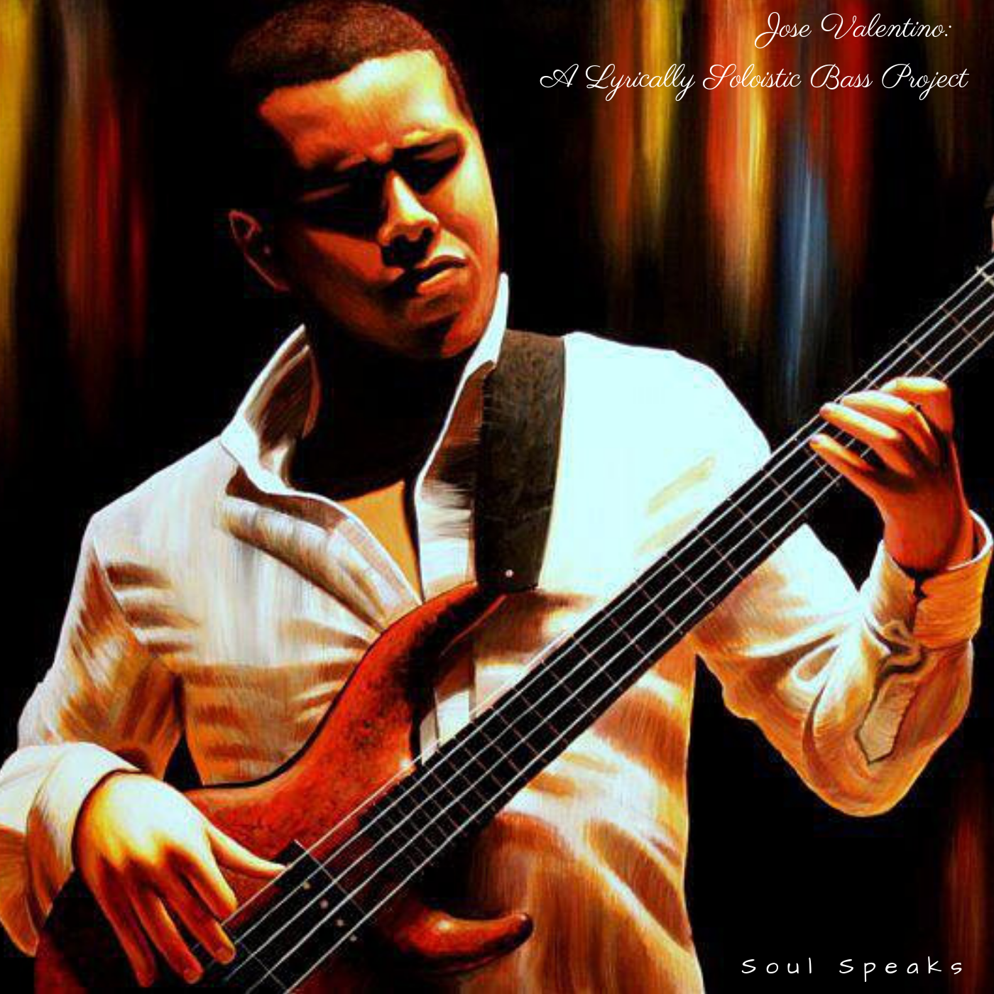 A one-of-a-kind bass guitar album that won numerous DownBeat Student Music Awards! This album showcases José's unique virtuosity and expressivity on the electric bass guitar and acoustic bass. This album has been regard as one of the top solo bass albums of the post-modern era.
