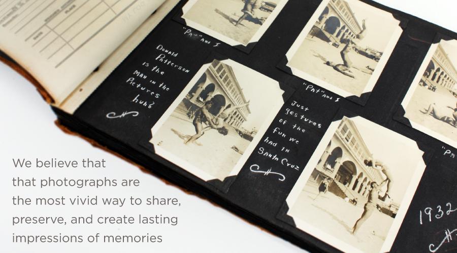 KINSHO preserve and create lasting impression of memories