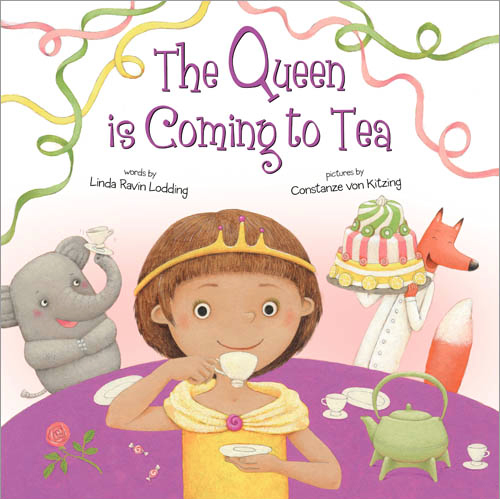 The Queen is coming to Tea Sourcebooks 2017, USA