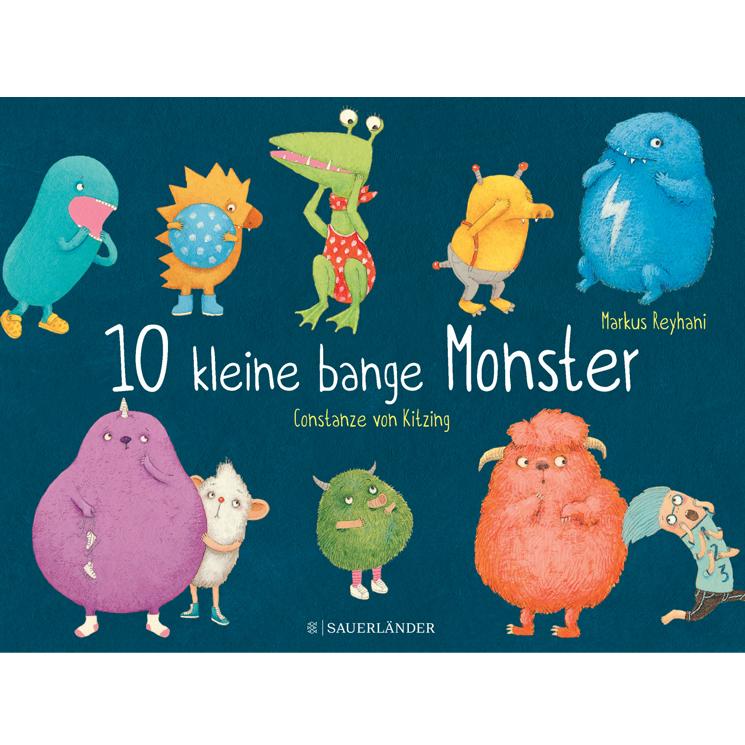 10 kleine bange Monster Fischer-Sauerländer 2018
