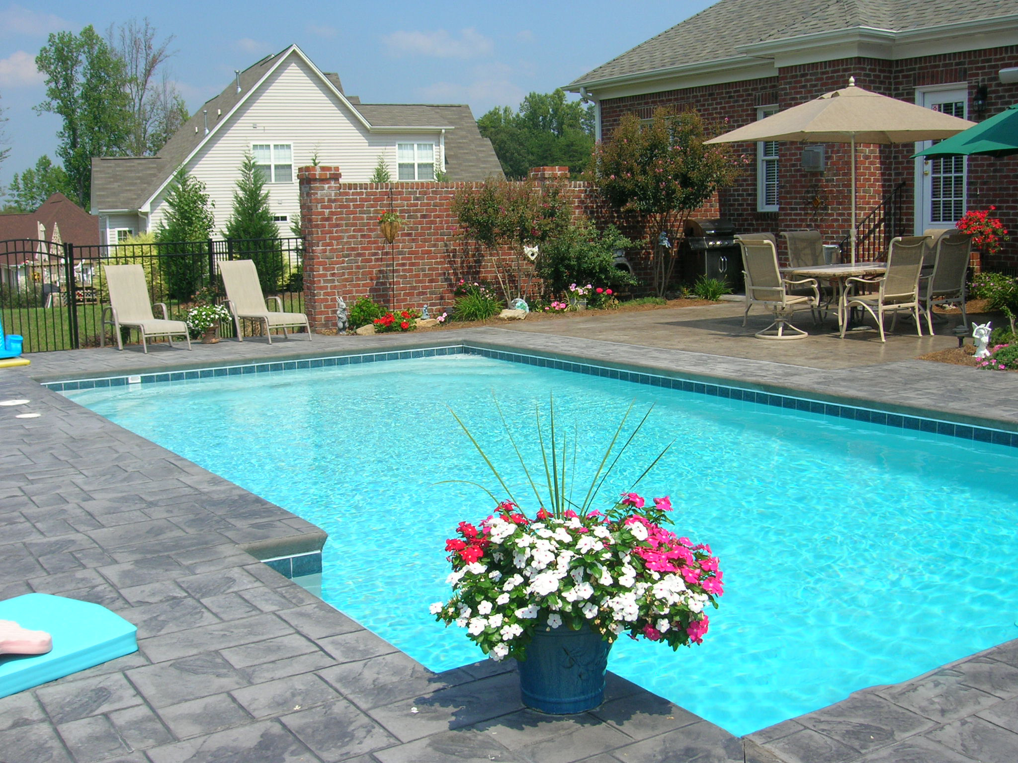 1 - Swimming Pool with Stamped Concrete Pool Deck.JPG
