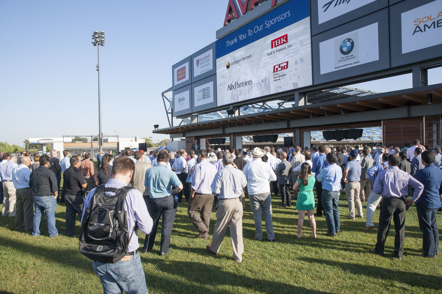 Silicon Catalyst Launch Event at Avaya Stadium