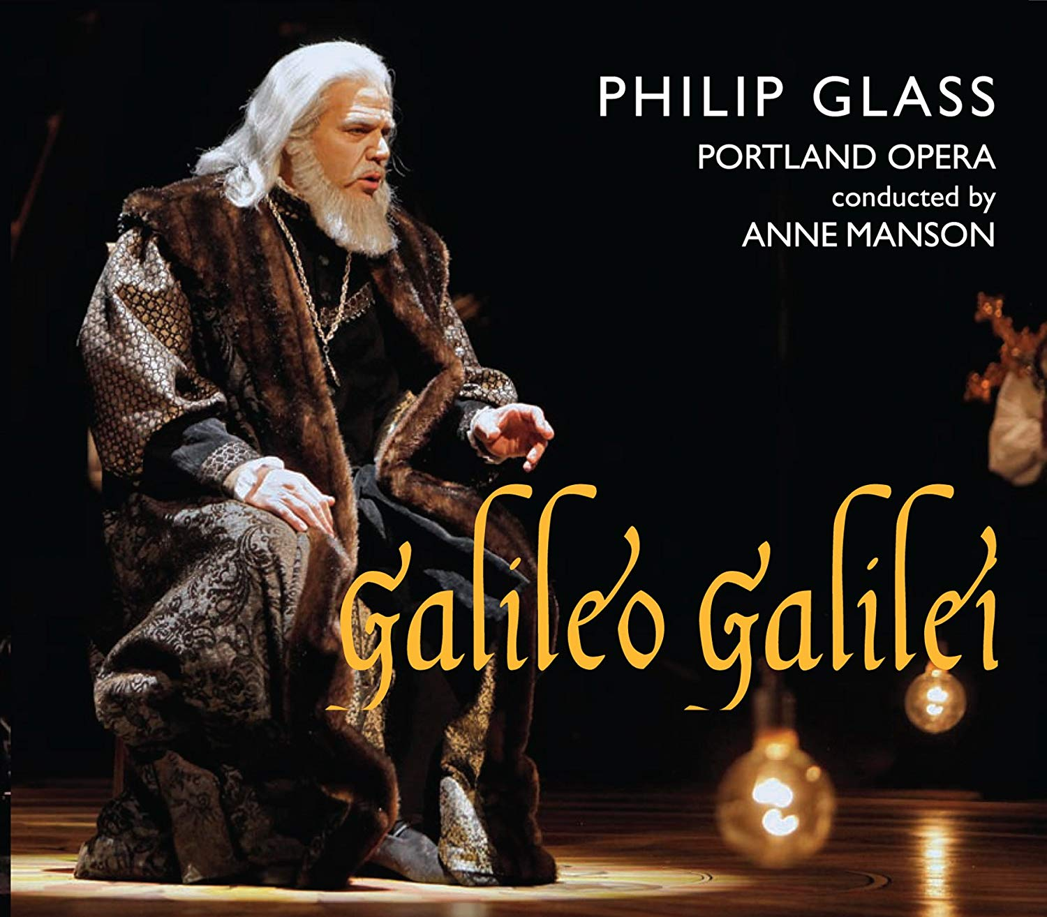 André plays the roles of Younger Galileo/Salviati on the commercial recording of Philip Glass'  Galileo Galilei . Click the image for the amazon listing!
