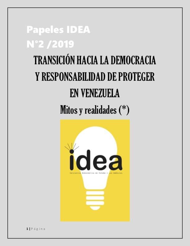 - Desde diciembre de 2015, la Asamblea Nacional de Venezuela impulsa un inédito proceso de transición para el rescate de la democracia y el regreso de Venezuela al Estado de Derecho. Adquiere su concreción, no obstante, a partir del pasado 5 de enero, cuando asume como presidente del cuerpo legislativo el diputado Juan Guaidó y lo hace apegado al orden constitucional que cabe restituir, fracturado por Nicolás Maduro Moros, considerado usurpador del Poder Ejecutivo luego del día 10 de enero siguiente.Esa experiencia, de tener éxito, sin lugar a duda será objeto de análisis a profundidad en los distintos centros académicos y de estudios estratégicos y políticos del mundo.