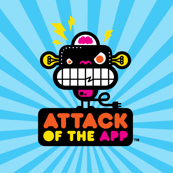 ATTACK OF THE APP: FINAL LOGO
