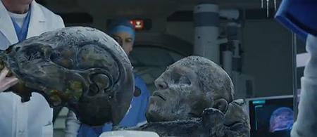 Yup, that's one  bleepin'  dead alien.