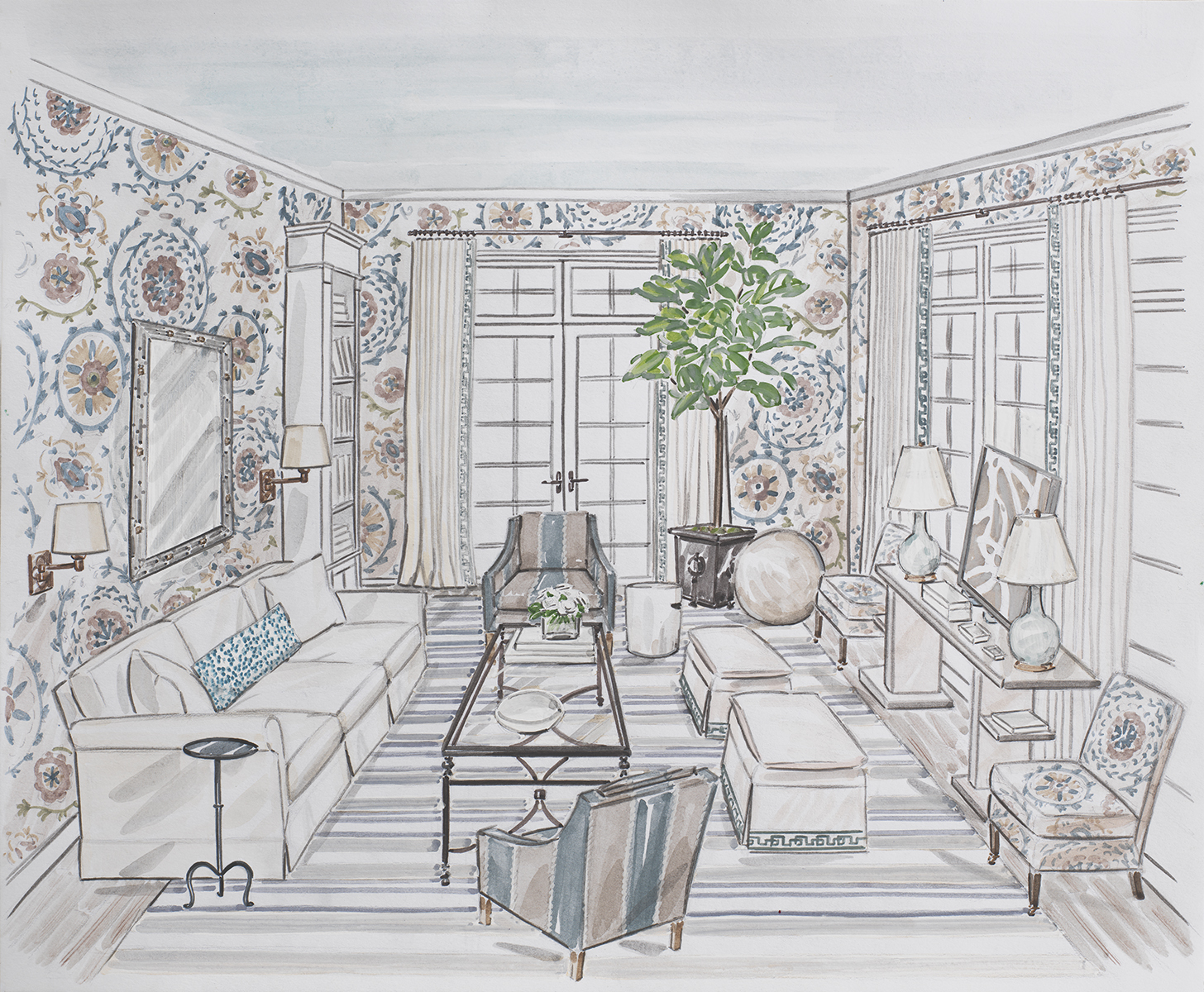 1 Suzanne Kasler rendering featured in House Beautiful.jpg
