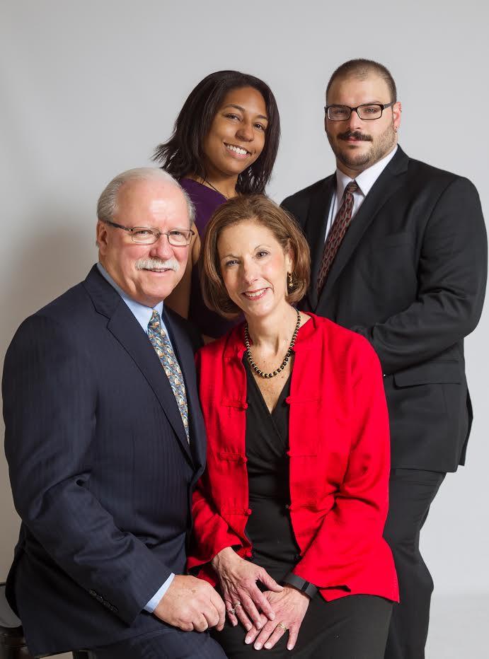Kenneth & Donna Shirreffs, and Jon & Shanna Shirreffs (Photo by Domenica Comfort Photographs)