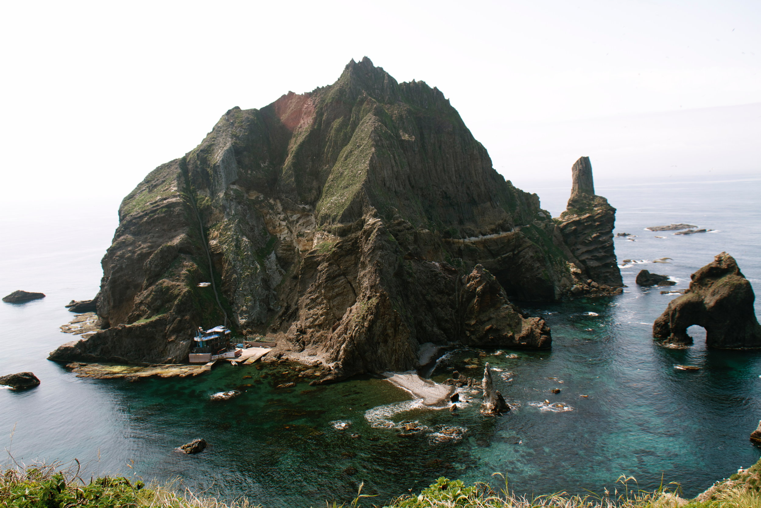 Dokdo from Helipad.jpg
