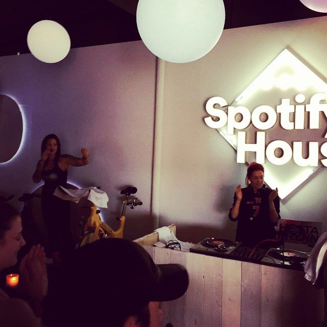 Spotify x Soul Cycle SXSW 2015