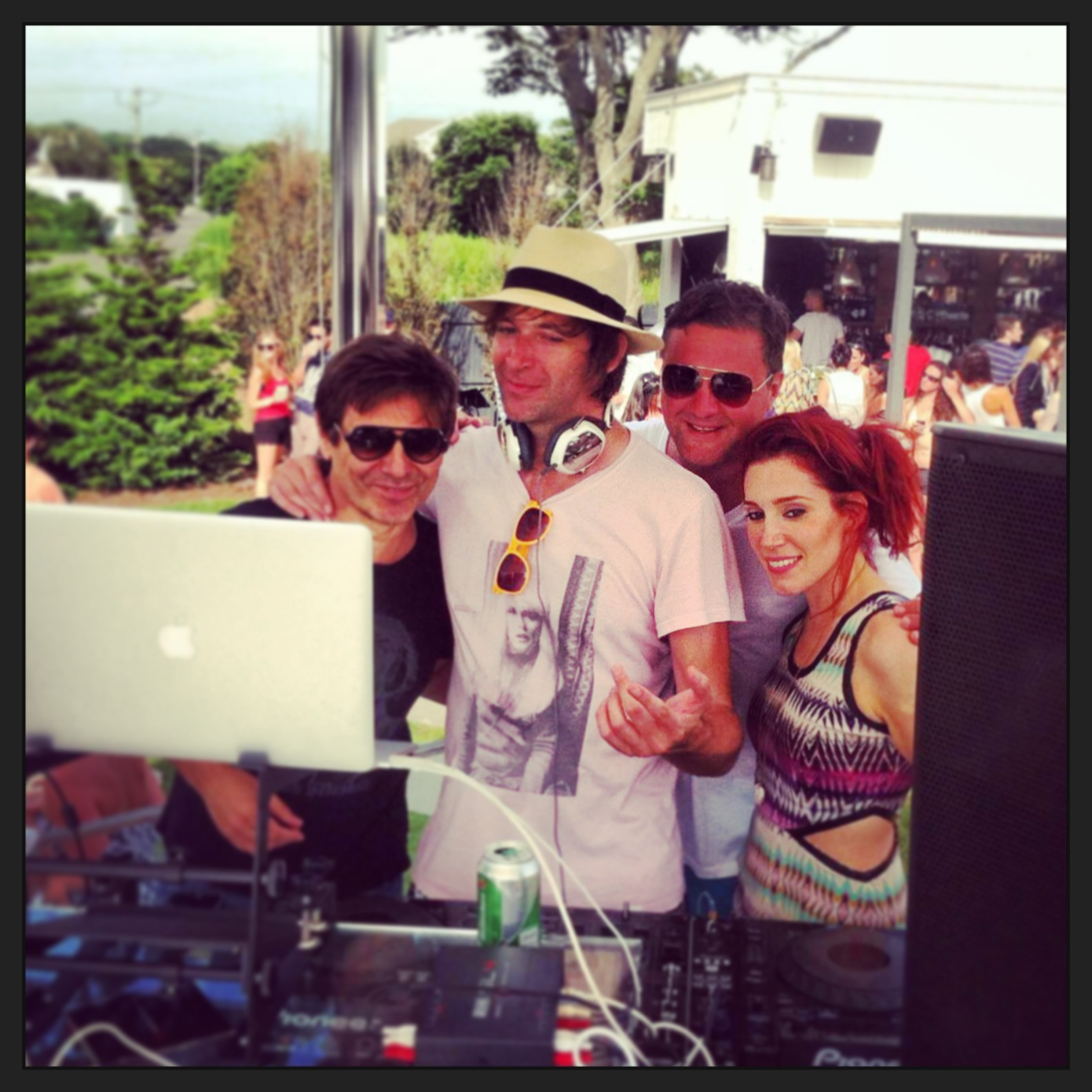 DJing Montauk Beach House with Dirty Vegas and Roger Taylor of Duran Duran
