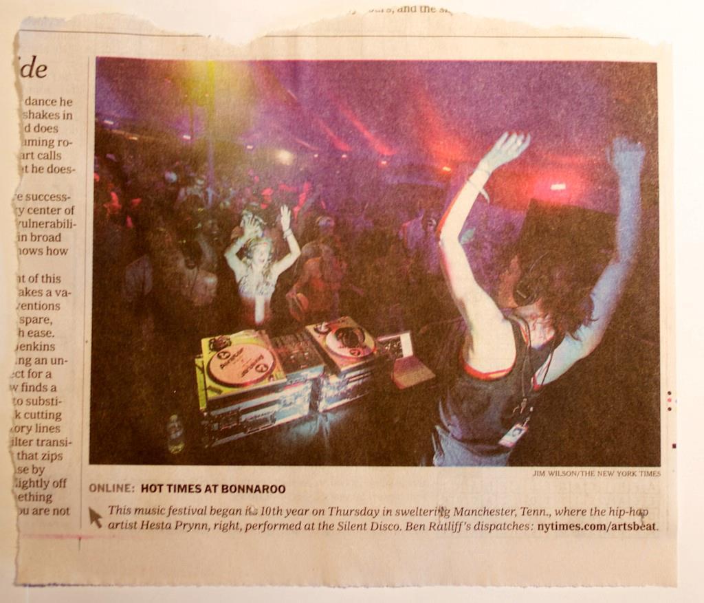 NY Times Bonnaroo Coverage