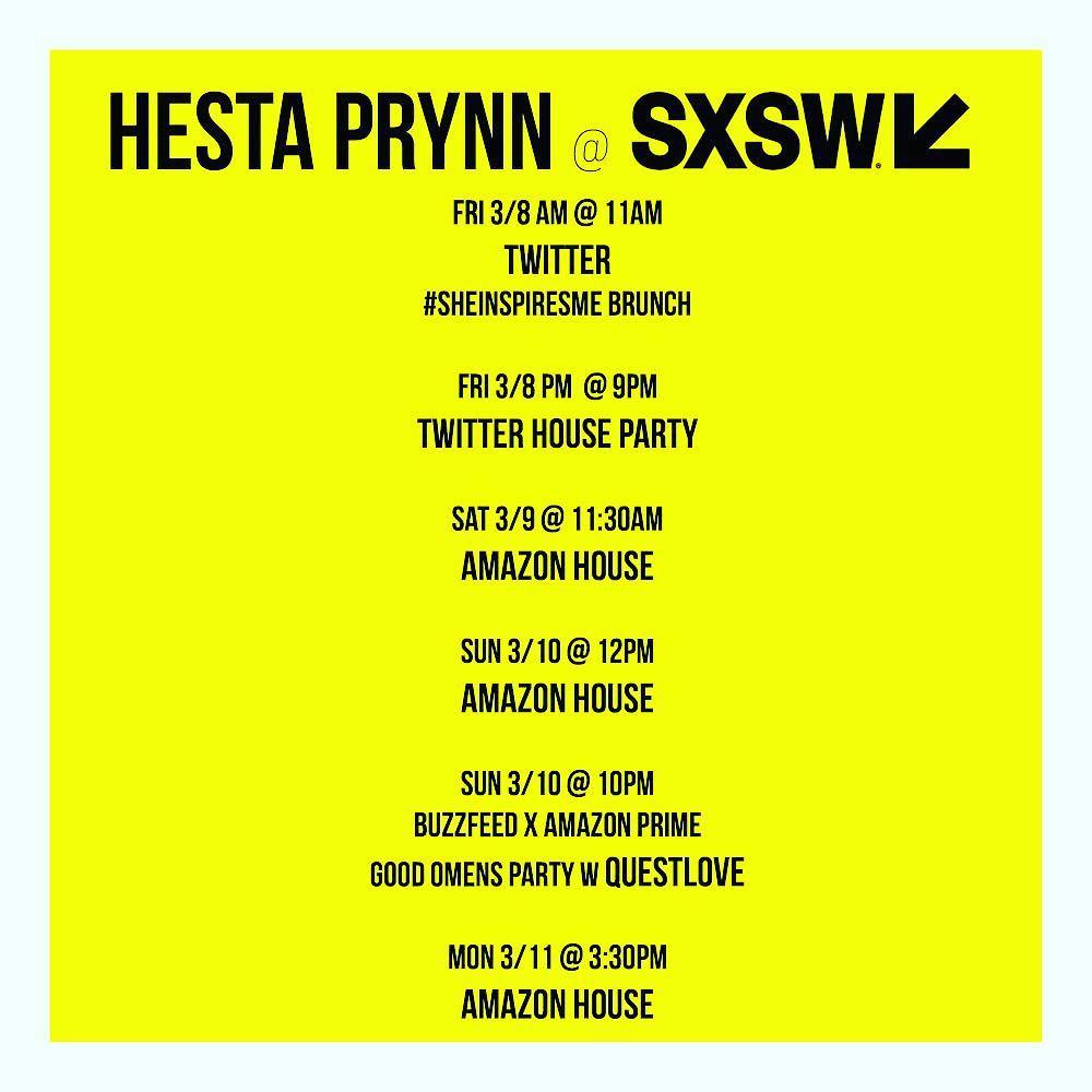 SXSW 2019 Schedule