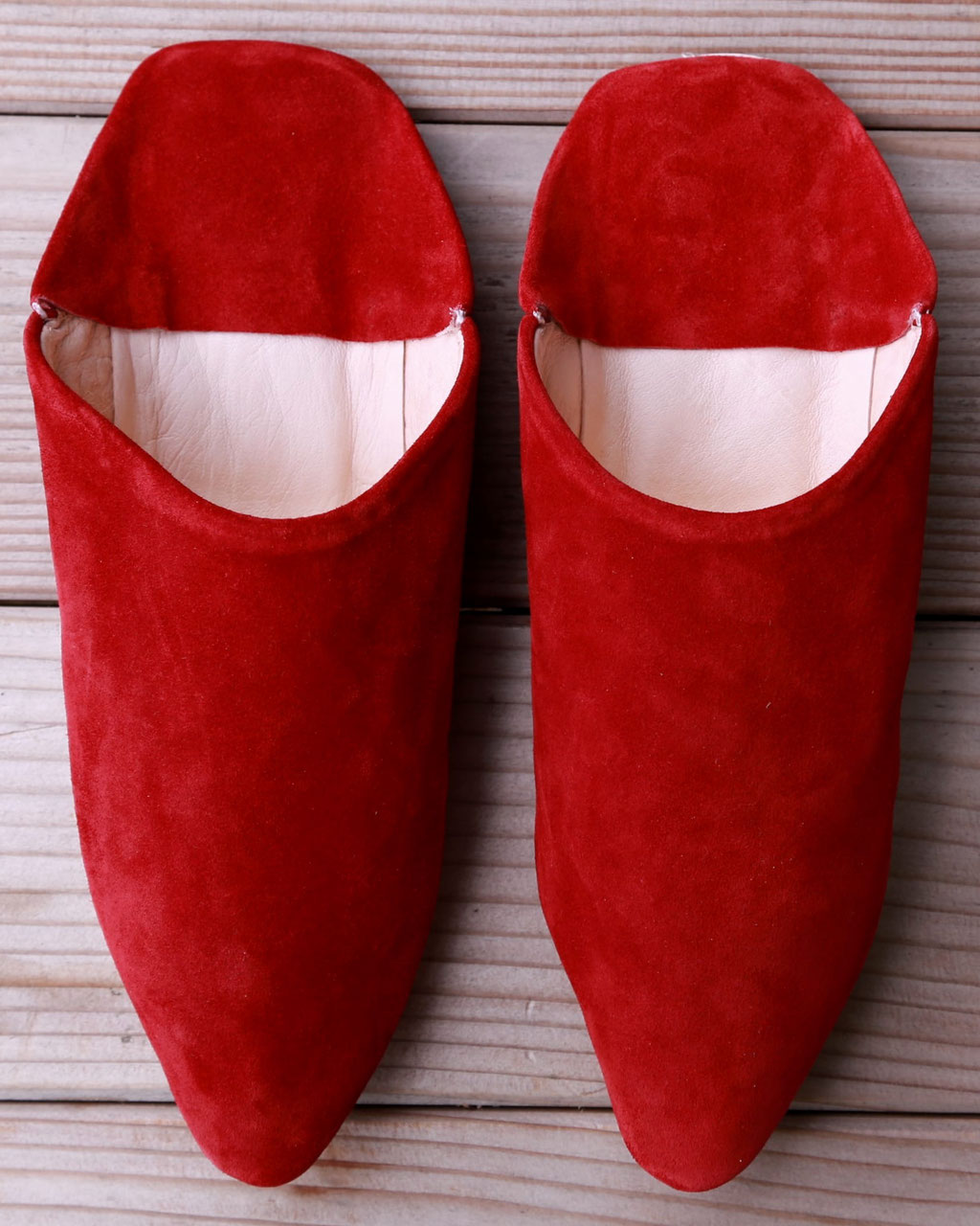 Die Soft Babouches in Rot