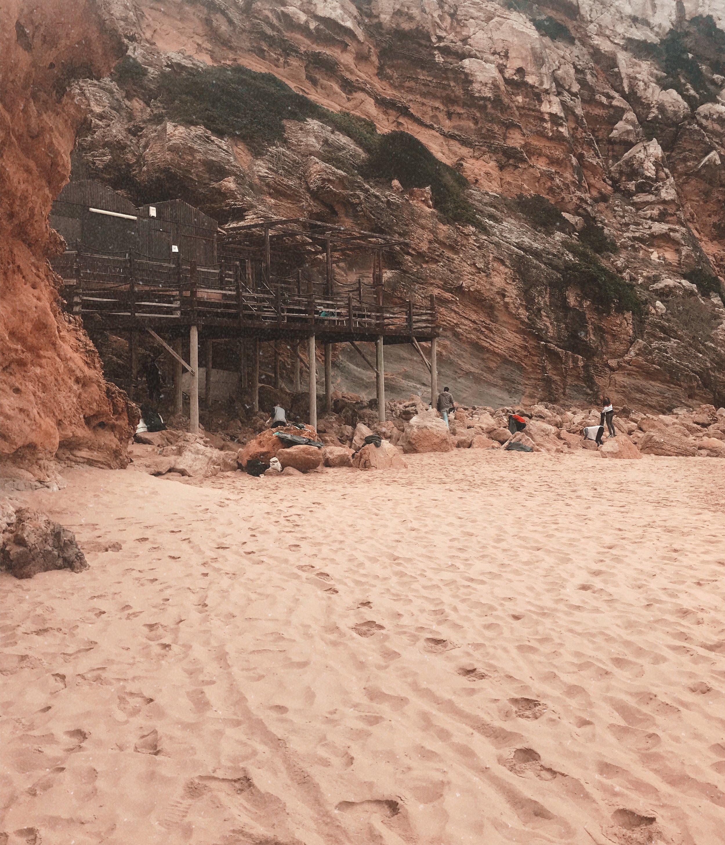 surfing algarve beach clean ups